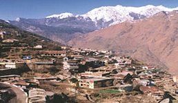 A view of Joshimath city
